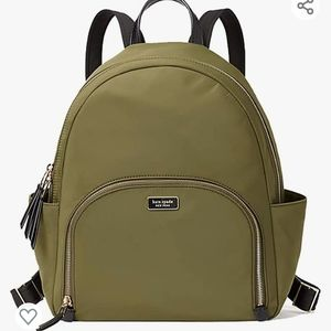 NWT Kate Spade Large Nylon Backpack Dawn Sapling